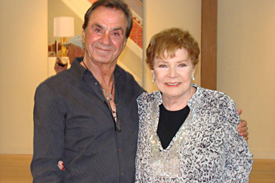 Norman Sunshine w/ the wonderful Polly Bergen
